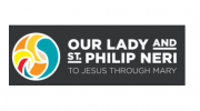 Our lady and st philip neri logo