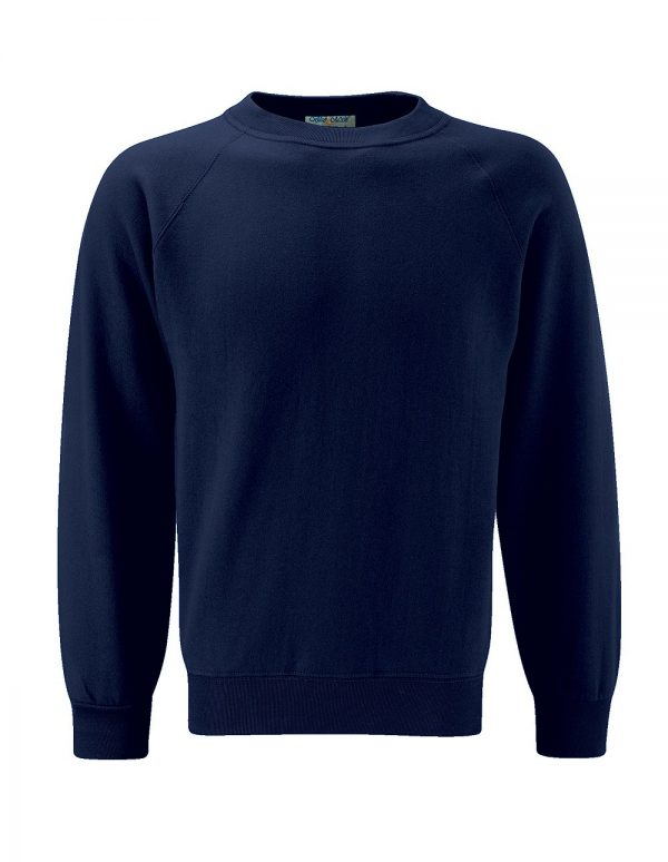 Plain Navy Sweatshirt